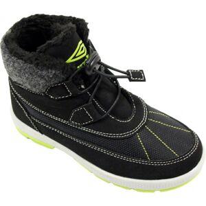 Umbro KONSTA černá 30 - Dětská podzimní obuv