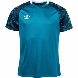 Umbro FRAGMENT JERSEY tmavě zelená XXL - Pánské sportovní triko