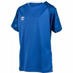 Umbro FRAGMENT JERSEY SS JNR tmavě modrá S - Dětské sportovní triko