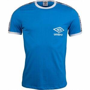 Umbro TAPED RINGER TEE modrá XXL - Pánské triko