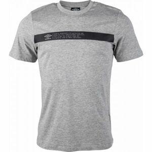 Umbro FW LINEAR LOGO TAB GRAPHIC TEE  XL - Pánské triko