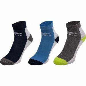 Umbro SPORT SOCKS 3P zelená 32-35 - Dětské ponožky