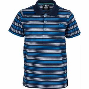 Umbro PERRY modrá 152-158 - Dětské polo tričko
