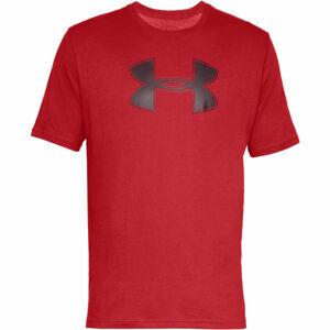 Under Armour BIG LOGO SS červená L - Pánské triko