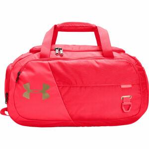 Under Armour UNDENIABLE DUFFEL 4.0 XS červená UNI - Sportovní taška