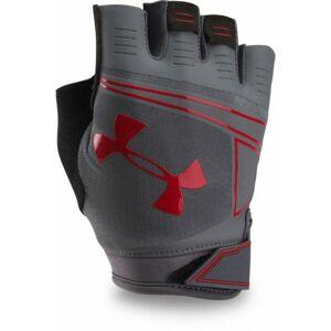 Under Armour COOLSWITCH FLUX tmavě šedá XL - Pánské tréninkové rukavice