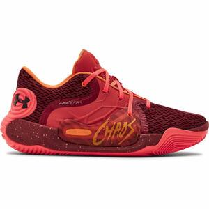 Under Armour SPAWN 2 červená 10.5 - Pánská basketbalová obuv