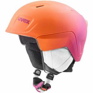 Uvex MANIC PRO růžová (51 - 55) - Dětská lyžařská helma
