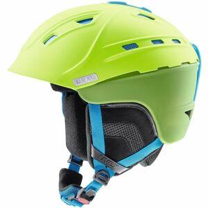 Uvex P2US zelená (59 - 61) - Lyžařská helma