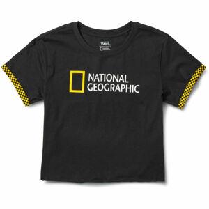 Vans WM NAT GEO ROLLOUT černá L - Dámské tričko
