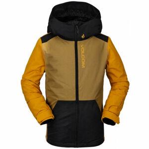 Volcom VERNON INS  L - Zateplená dětská zimní bunda