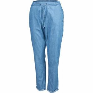 Willard AMMA modrá S - Dámské plátěné kalhoty džínového vzhledu