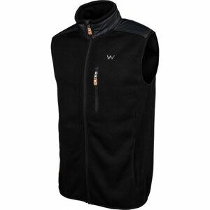 Willard CRISPIN  2XL - Pánská kombinovaná fleecová vesta