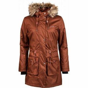 Willard DAPHNE hnědá XL - Dámský kabát