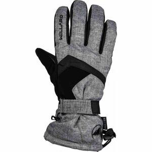 Willard EWEN šedá S - Pánské lyžařské rukavice