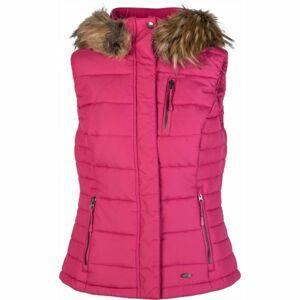 Willard LORAIN růžová XL - Dámská prošívaná vesta