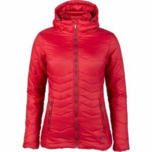 Willard ASPENA červená M - Dámská prošívaná bunda