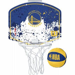 Wilson NBA MINI HOOP WARRIORS  UNI - Mini basketbalový koš