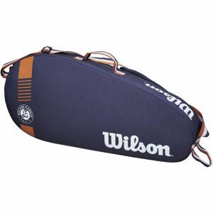 Wilson ROLAND GARROS TEAM 3 PACK tmavě modrá NS - Tenisový bag