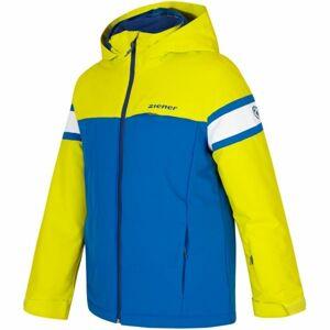Ziener ALIAM JR žlutá 128 - Chlapecká bunda