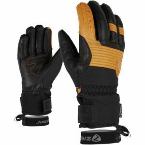 Ziener GINGO AS AW černá 10.5 - Pánské rukavice